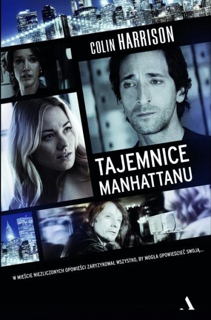 Tajemnice Manhattanu - Colin Harrison | okładka
