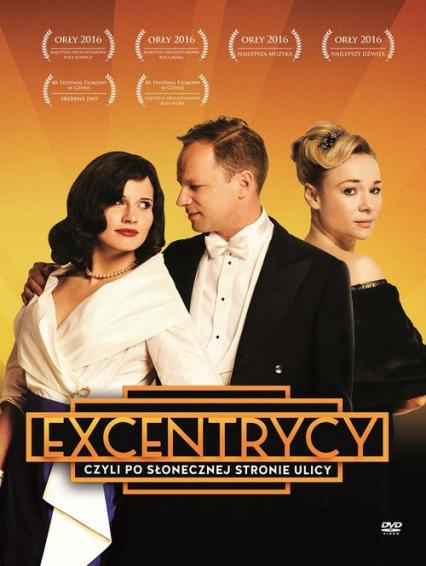 Excentrycy czyli po słonecznej stronie ulicy. DVD - Janusz Majewski, Włodzimierz Kowalewski | okładka
