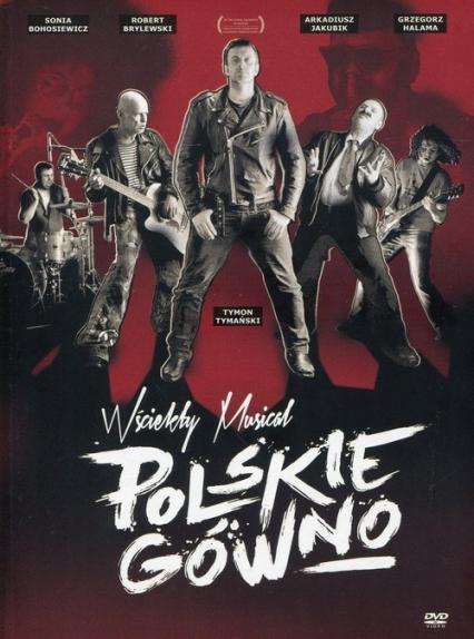 Polskie gówno. DVD - Opracowanie zbiorowe   okładka
