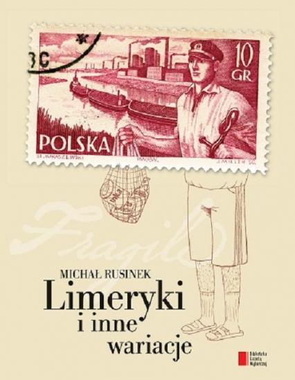 Limeryki i inne wariacje - Michał Rusinek | okładka