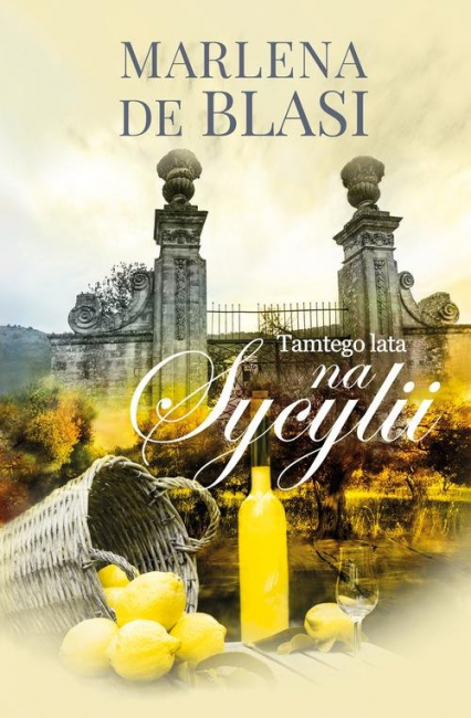 Tamtego lata na Sycylii - de Blasi Marlena   okładka