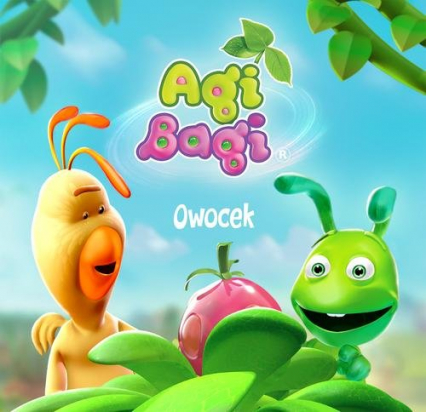 Agi Bagi. Owocek - Iwona Krynicka | okładka
