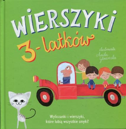 Wierszyki 3-latków - Opracowanie zbiorowe   okładka