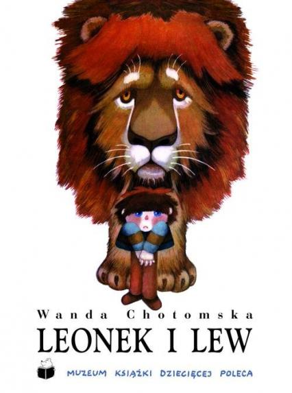 Leonek i lew - Wanda Chotomska   okładka
