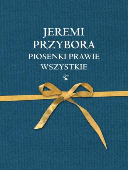 Piosenki prawie wszystkie - Jeremi Przybora   okładka
