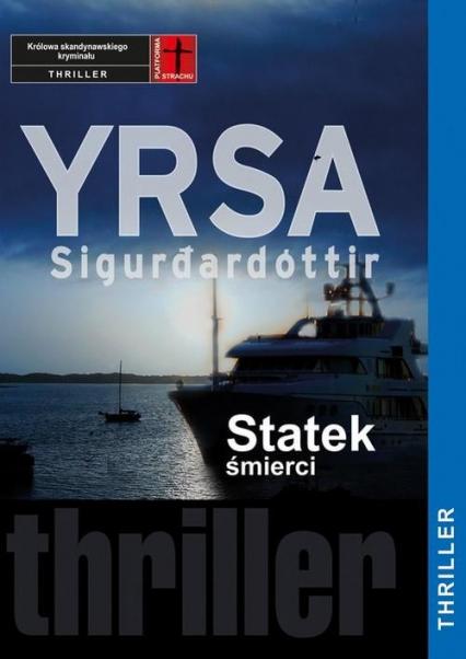 Statek śmierci - Yrsa Sigurdardottir | okładka