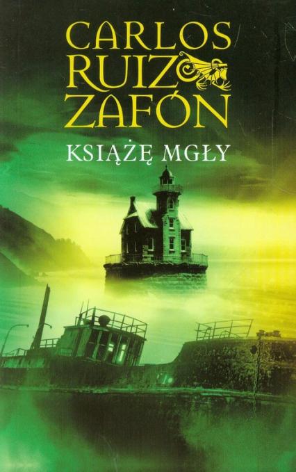 Książę mgły - Zafon Carlos Ruiz   okładka
