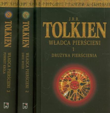 Władca Pierścieni Tom 1-3 - J.J.R Tolkien | okładka