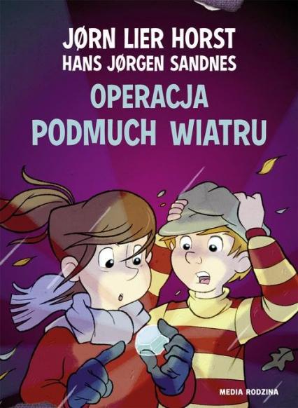 Operacja Podmuch Wiatru - Horst Jorn Lier | okładka