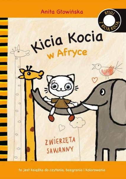 Kicia Kocia w Afryce - Anita Głowińska | okładka