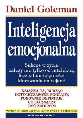 Inteligencja emocjonalna - Daniel Goleman | okładka