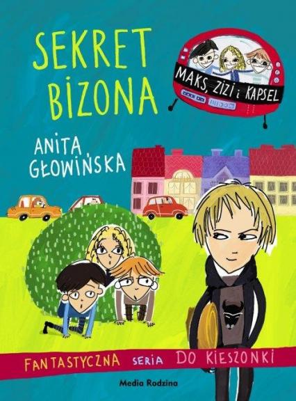 Sekret Bizona - Anita Głowińska | okładka