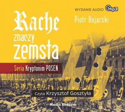 Rache znaczy zemsta. Audiobook - Piotr Bojarski | okładka