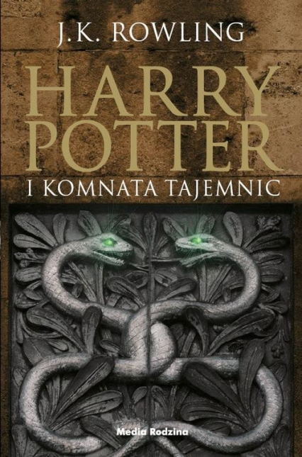 Harry Potter 2. Harry Potter i Komnata Tajemnic - J.K. Rowling | okładka