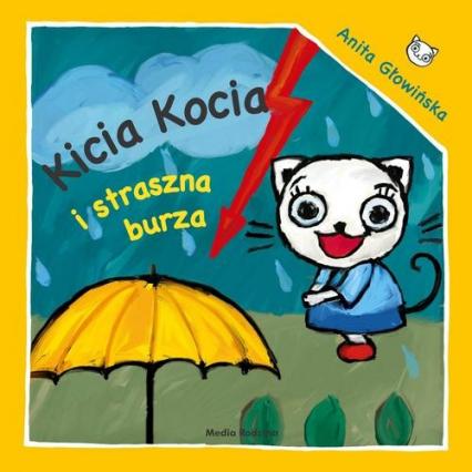 Kicia Kocia i straszna burza - Anita Głowińska | okładka