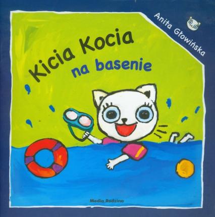 Kicia Kocia na basenie - Anita Głowińska | okładka