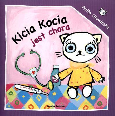 Kicia Kocia jest chora - Anita Głowińska | okładka