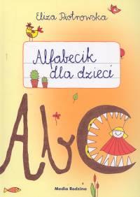 Alfabecik dla dzieci - Eliza Piotrowska | okładka