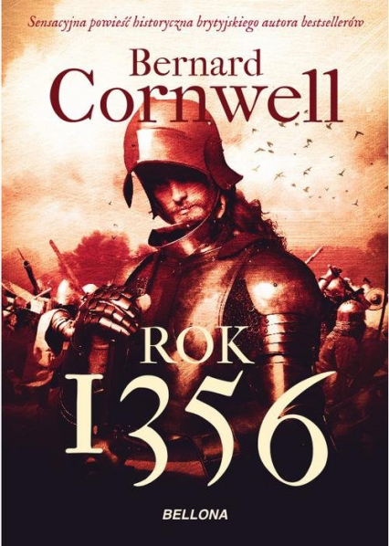 Rok 1356 - Bernard Cornwell | okładka