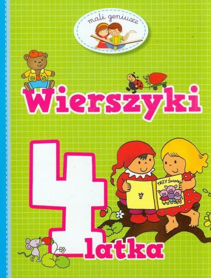 Wierszyki 4 latka - Elżbieta Lekan   okładka