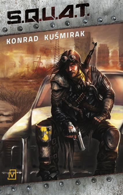 S.Q.U.A.T. - Konrad Kuśmirak | okładka