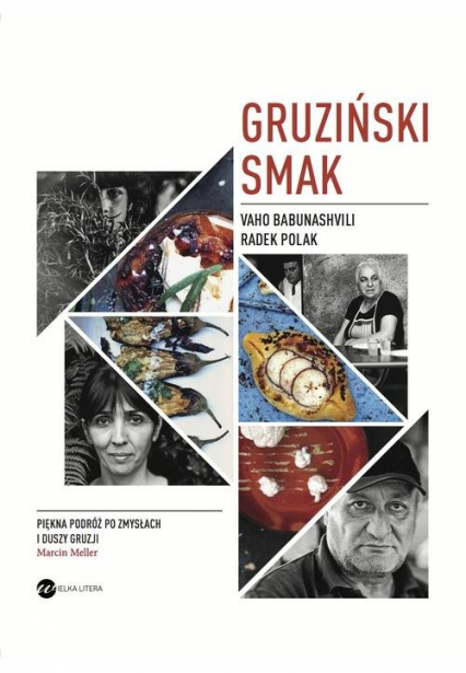 Gruziński smak - Babunashvili Vaho, Polak Radek   okładka