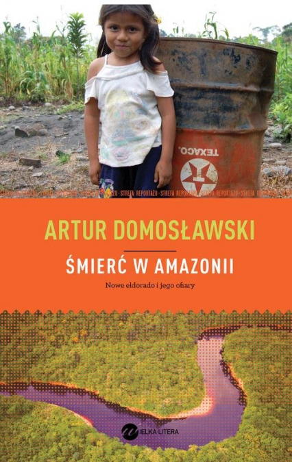 Śmierć w Amazonii. Nowe eldorado i jego ofiary - Artur Domosławski | okładka