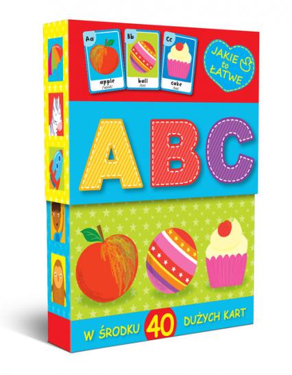 Karty malucha A B C -  | okładka