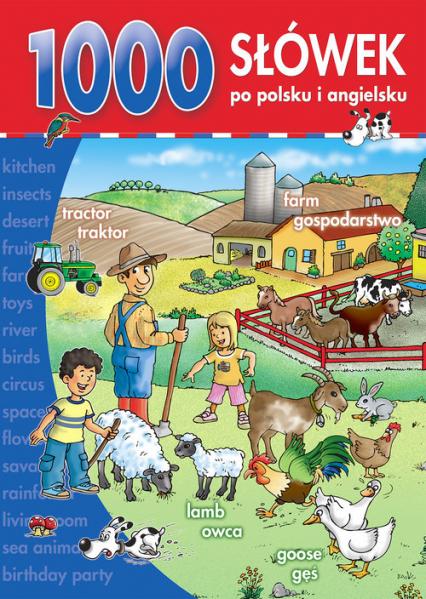1000 słówek po polsku i po angielsku -  | okładka