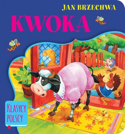 Kwoka - Jan Brzechwa   okładka