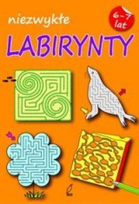 Niezwykłe Labirynty. Zeszyt 1 - Opracowanie zbiorowe | okładka