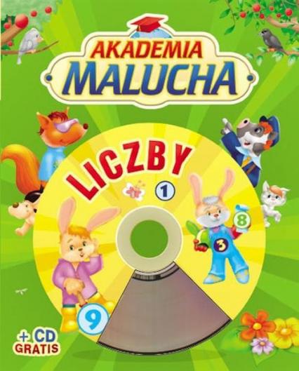 Akademia malucha. Liczby z płytą CD
