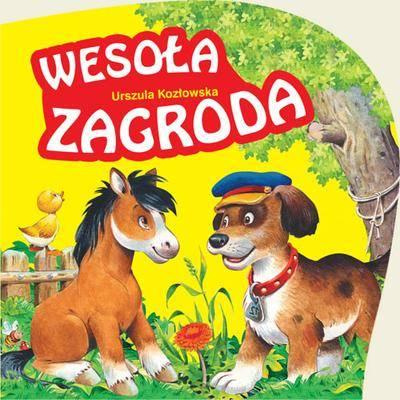 Wesoła zagroda - Urszula Kozłowska | okładka