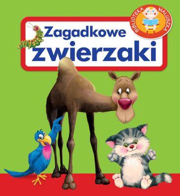 Biblioteka maluszka. Zagadkowe zwierzaki - Urszula Kozłowska | okładka