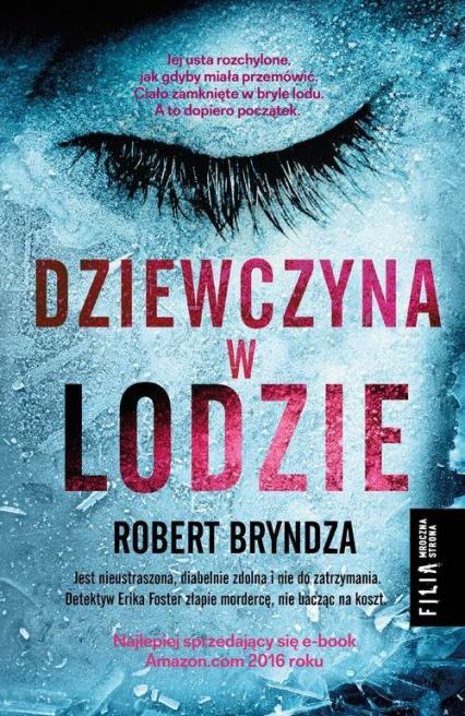 Dziewczyna w lodzie - Robert Bryndza | okładka
