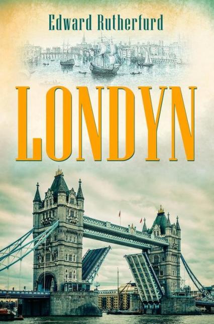 Londyn - Edward Rutherfurd | okładka