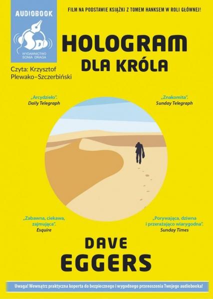 Hologram dla króla - Dave Eggers | okładka