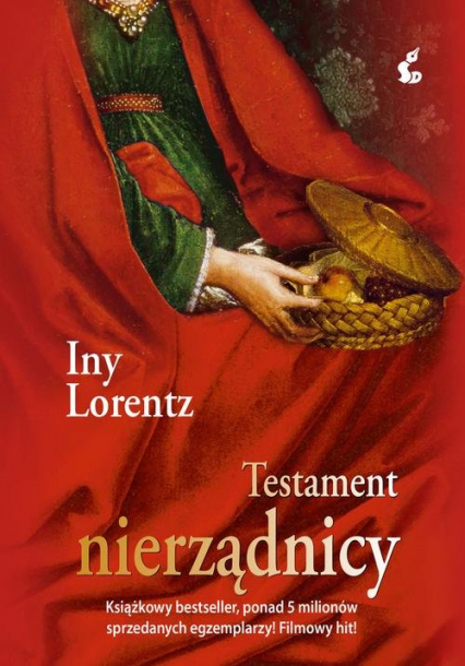 Testament nierządnicy - Iny Lorentz | okładka