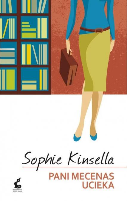 Pani mecenas ucieka - Sophie Kinsella   okładka