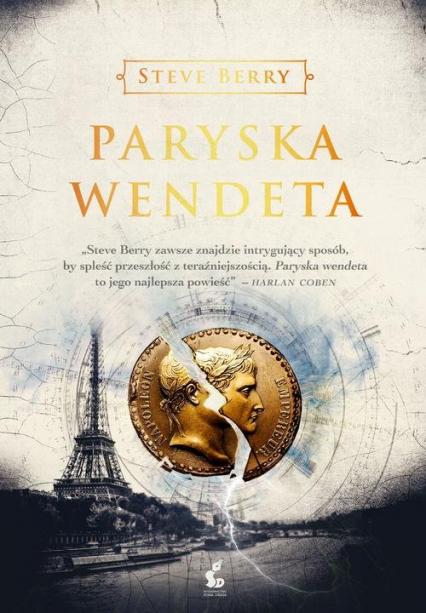 Paryska wendeta - Steve Berry | okładka