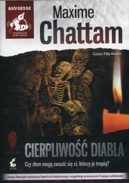Cierpliwość diabła. Audiobook - Maxime Chattam | okładka