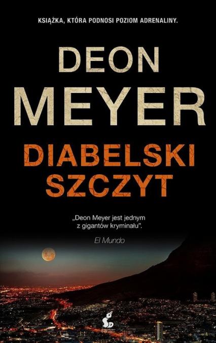Diabelski szczyt - Deon Meyer | okładka