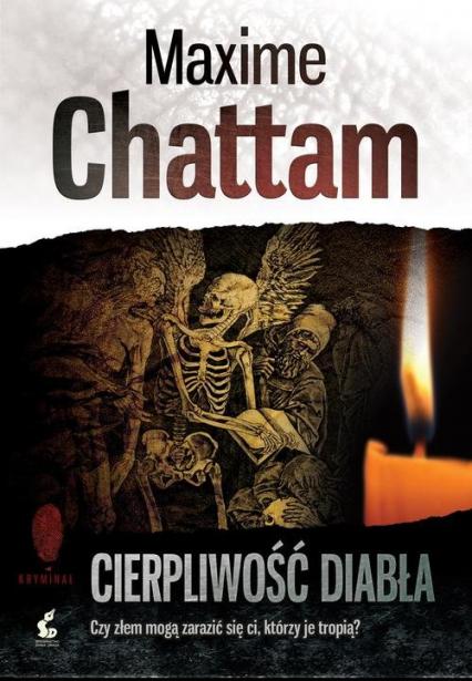 Cierpliwość diabła - Maxime Chattam | okładka