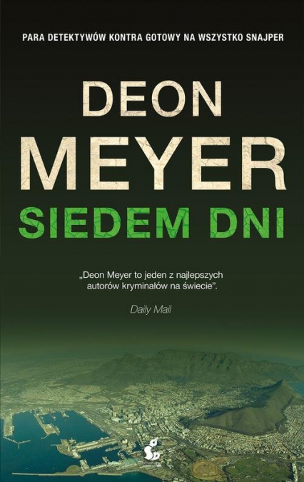 Siedem dni - Deon Meyer   okładka