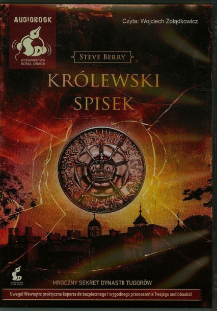 Królewski spisek - Steve Berry | okładka