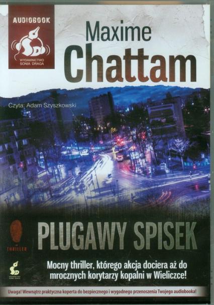 Plugawy spisek - Maxime Chattam | okładka