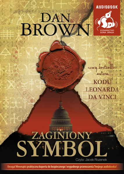 Zaginiony symbol - Dan Brown | okładka