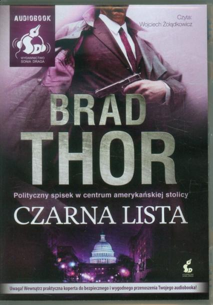 Czarna lista - Brad Thor | okładka