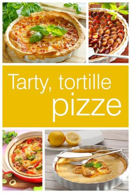 Tarty tortille i pizze -  | okładka