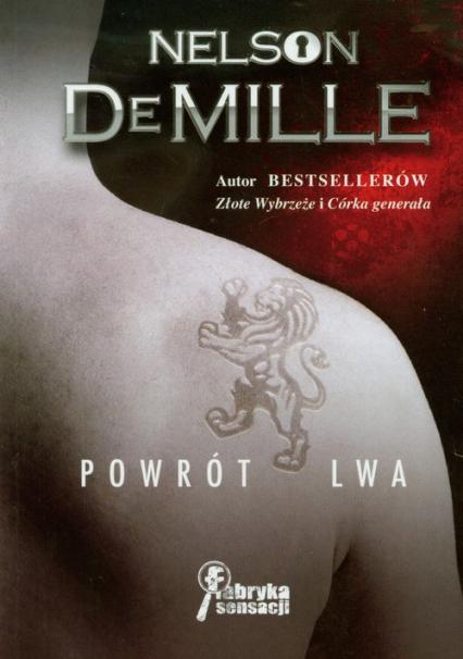 Powrót lwa - Nelson DeMille | okładka